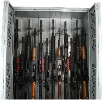 Adjustable Weapon Rack Barrel Saddles