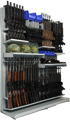 Combat Weapon Shelving Systems